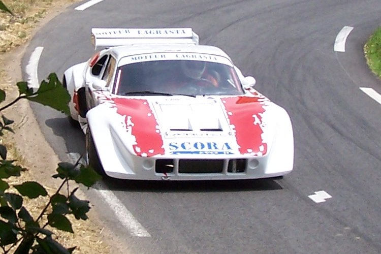 Roger Lhermet à la 2ème montée de course